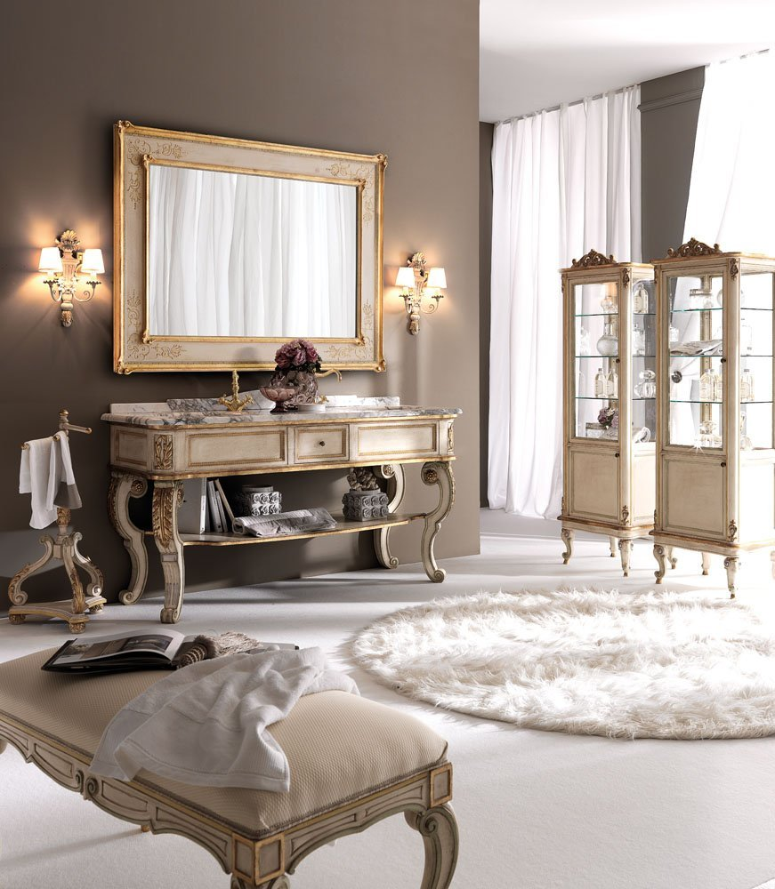 modern classic bathroom furniture