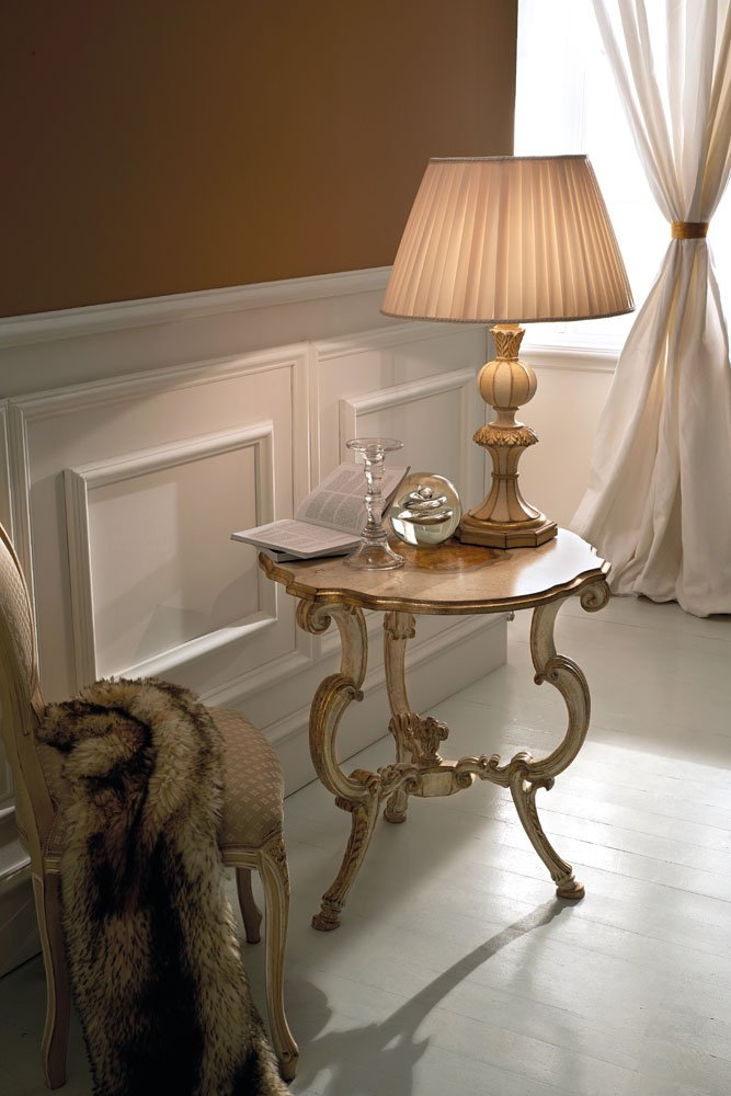 precious table lamp with antique white, Mecca and turtledove finish