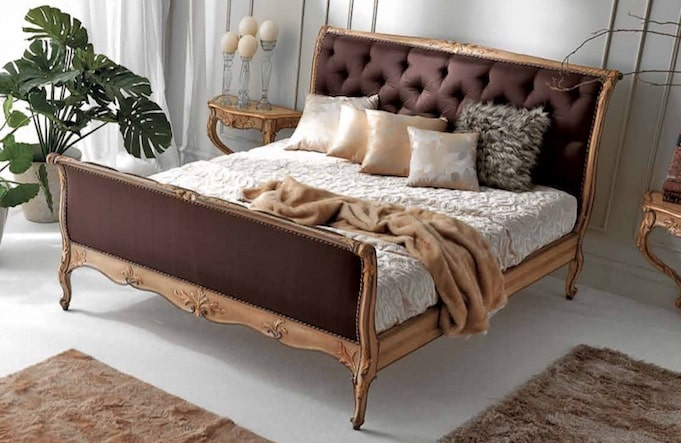 letto chesterfield matrimoniale